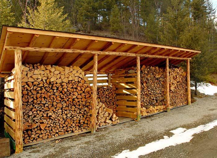 Comment stocker les bûches de bois?